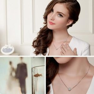 NEW 925 Sterling Silver Ball Necklace